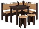 Кухонный уголок с раскладным столом Гетьман  (Пехотин) 1500х1100х850мм, фото 9