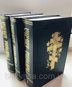 Толковая Библия, 15х23 см, в трех книгах под редакцией А. П. Лопухина, фото 2