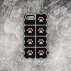 Чехол антистресс Pop It для iPhone 7 Plus силиконовый, Лапки