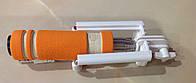 Палка для селфи, оранжевая 60 см