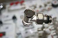 """Кран радиаторный американка с уплотнителем угловой п/ключ 1/2""""  ЕCO"""