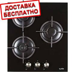 Варочная поверхность газовая Ventolux HG430-G3G CS (WH) Черный