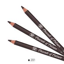 Олівець для повік Cascade of Colours 201 1.14 р Коричневий (102-201)