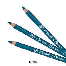 Карандаш для век Cascade of Colours 206 1.14 г Джинс (102-206)