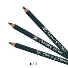 Карандаш для век Cascade of Colours 211 1.14 г Зеленый (102-211)