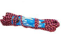 Веревка ф5  20 метров, шнур бытовой из синтетических нитей