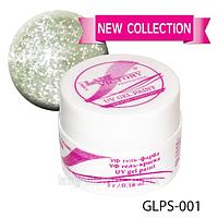 УФ гель-краска с мерцанием NEW COLLECTION. GLPS-(001-010)