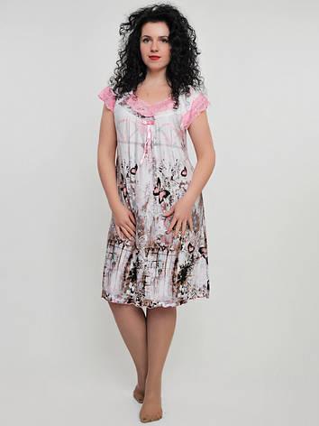 Женская ночная рубашка с бабочками, фото 2