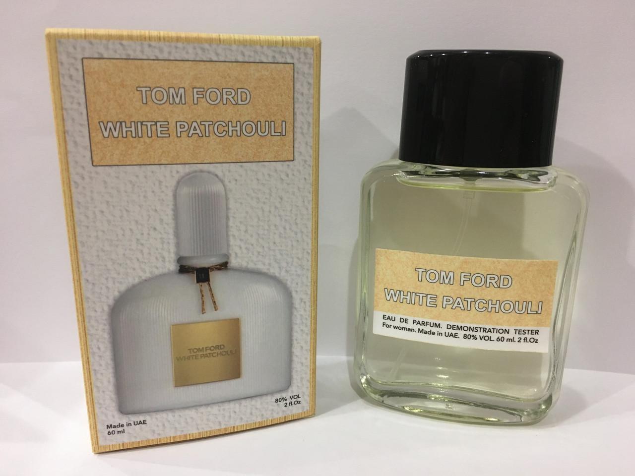 Жіночі парфуми міні тестер Tom Ford White Patchouli DutyFree 60 мл (Том Форд Вайт Пачулі)