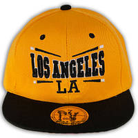Кепка реперка для мальчика с прямым козырьком Los Angeles