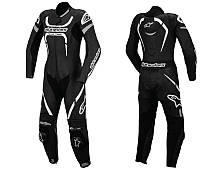 Мотокомбинезон ALPINESTARS MOTEGI LEATHER SUIT  кожаный 54