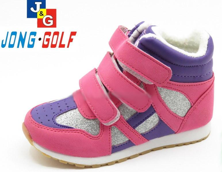 Детские сникерсы утепленные ботинки для девочки, 29