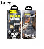 "Вольтметр в прикурку 12V/24V на 2*USB (2.1+1A) ""King Kong"" HOCO DZ5"