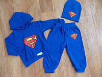 Детский Костюм   Супермен с шапочкой