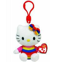 Мягкая игрушка Ty Хеллоу Китти радуга, 12 см (40957)