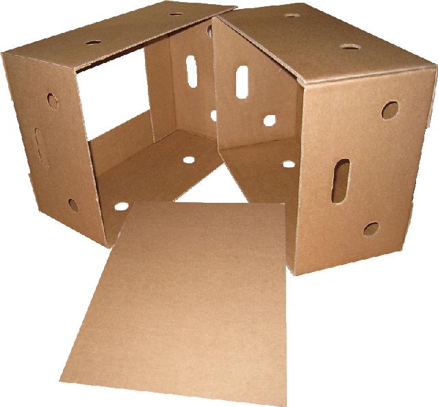 Лотки, ящики из гофрокартона