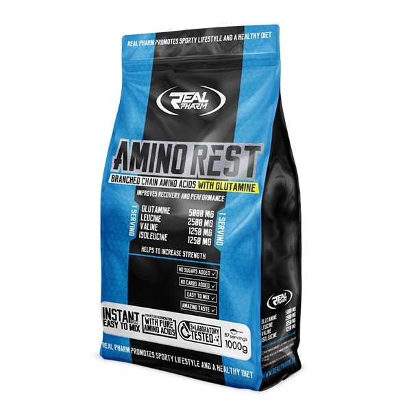 Амінокислота Real Pharm Amino Rest, 1 кг Апельсин