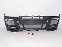 Передний бампер карбон BMW X6