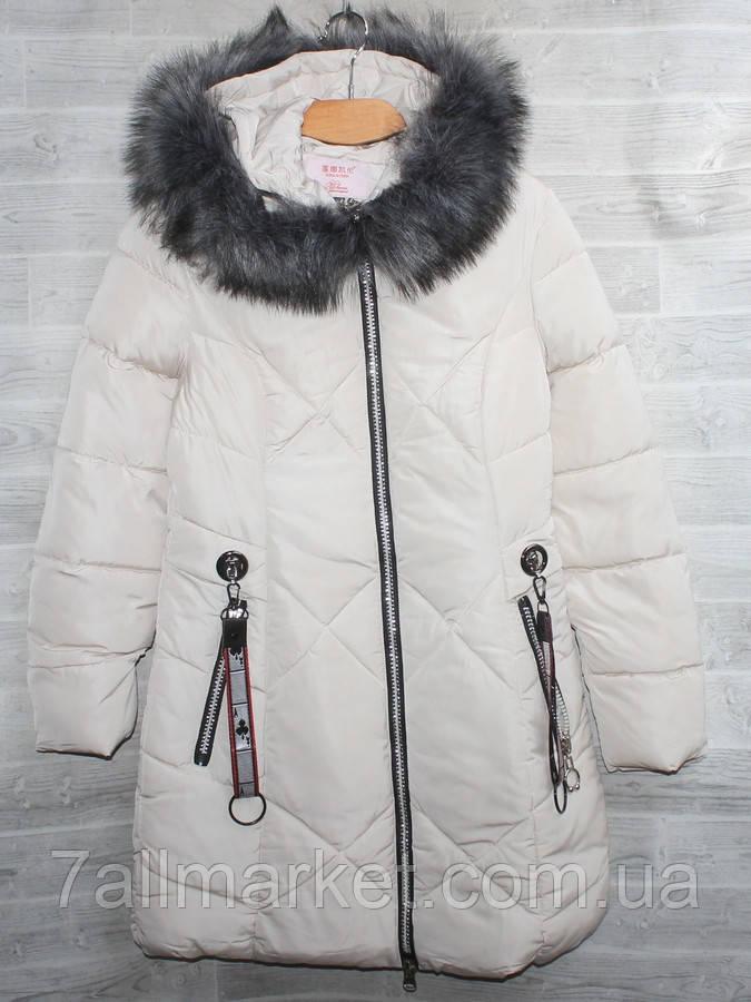 """Куртка женская еврозима с мехом на капюшоне, размеры L-4XL (5цв) """"YANUFEIZI"""" недорого от прямого поставщика"""