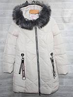 """Куртка женская еврозима с мехом на капюшоне, размеры L-4XL (5цв) """"YANUFEIZI"""" недорого от прямого поставщика, фото 1"""