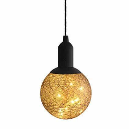 Новогодняя LED лампа