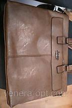 Мужская деловая сумка портфель Jeep, фото 3
