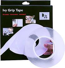 Многоразовая крепежная лента Ivy Grip Tape (длина 1 м, ширина 30 мм, толщина 2 мм)