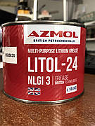 """Смазка AZMOL """"Литол-24"""" ГОСТ 21150-87 (банка 0,5л)"""