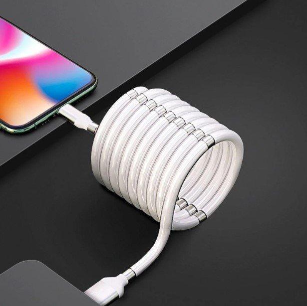 Магнитный кабель зарядки