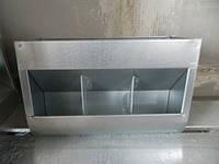 Годівниця бункерна для кролів 3-ох секційна