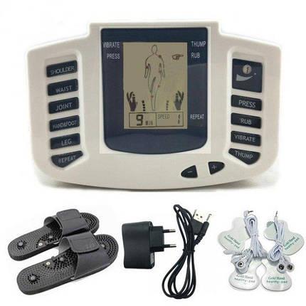 Електронний масажер міостимулятор JR-309, фото 2
