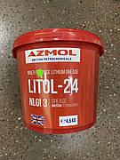 """Смазка AZMOL """"Литол-24"""" ГОСТ 21150-87 (ведро 4.5л)"""