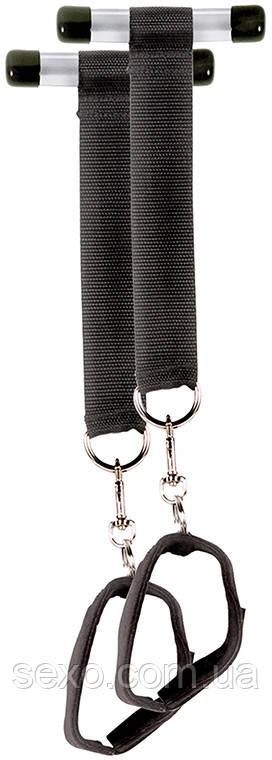 Подвески на двери с наручникам Door Jam cuffs - 4 pc - Секс-шоп интернет-магазин SEXO.COM.UA в Кривом Роге
