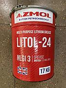 "Смазка AZMOL ""Літол-24"" ГОСТ 21150-87 (ведро 20л)"