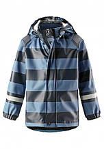 Куртка-дождевик демисезонная для мальчика Reima 521523-6743. Размеры 98-116.