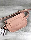 Стильна жіноча молодіжна сумка клатч на пояс Aliri-20529 мерехтливої кольору, фото 2