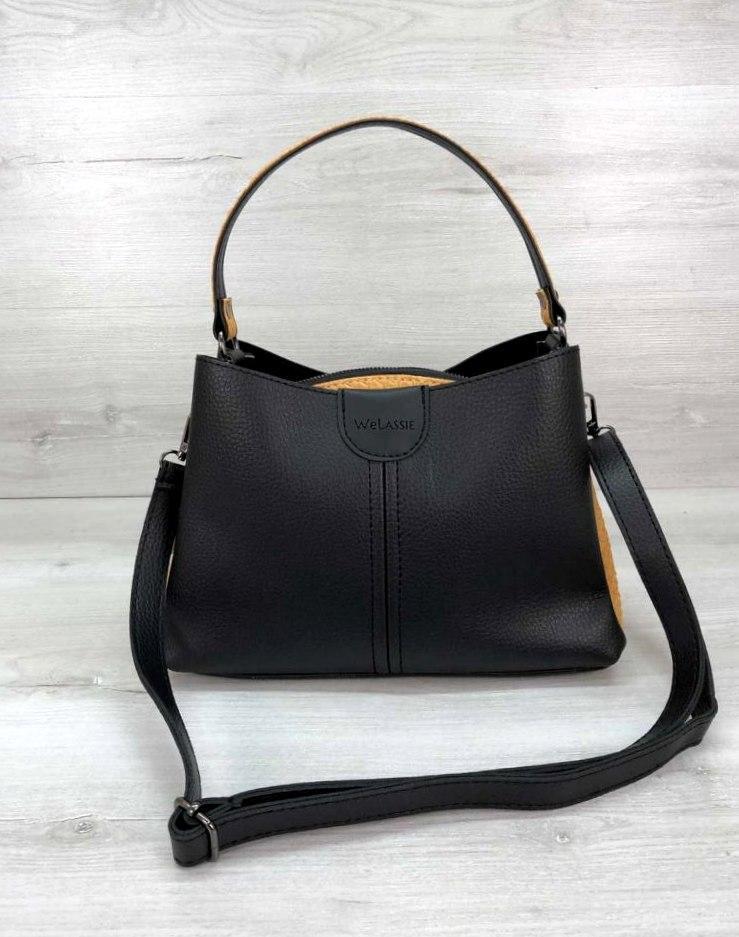 Женская молодежная сумка Aliri-20233 черная