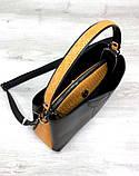Женская молодежная сумка Aliri-20233 черная, фото 5
