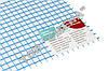 Универсальная армирующая стеклосетка 125 г/кв. м. SSA-0808 / ССА 0808