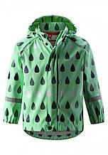 Куртка-дождевик для мальчика Reima 521523-8751. Размеры 104-128.