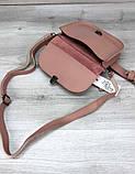 Модна жіноча сумочка на пояс поясна сумка клатч Aliri-20585 мерехтливої кольору, фото 3