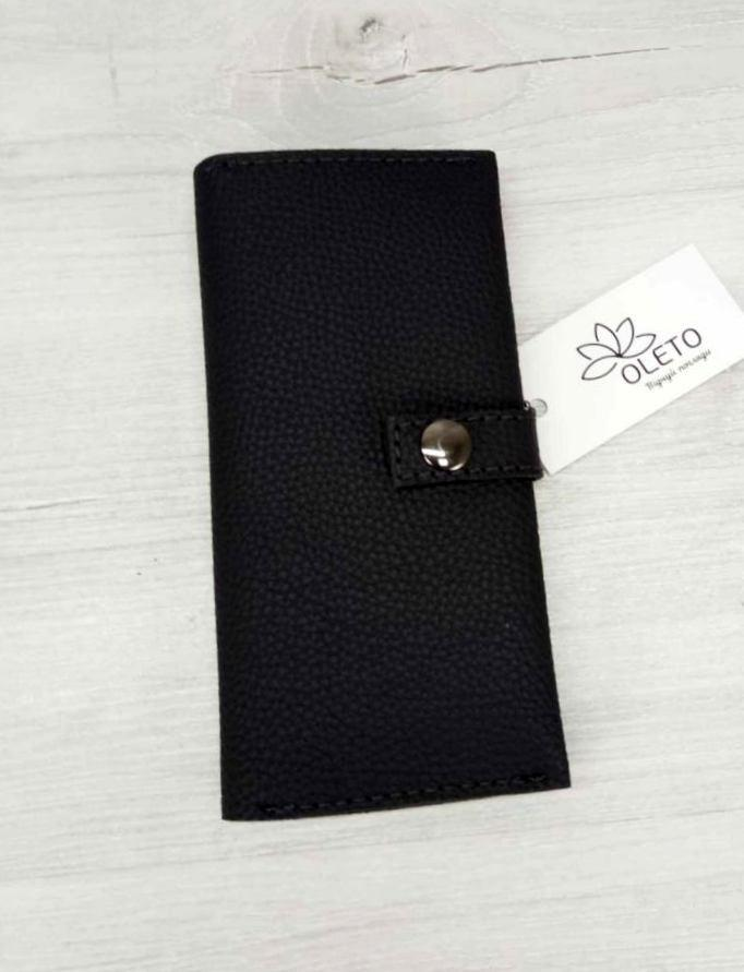 Стильний місткий жіночий гаманець з екошкіри Aliri-20657 жіночий гаманець графітовий
