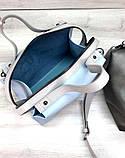 Якісна жіноча сумка з косметичкою 2в1 Aliri-блакитна 20265, фото 2