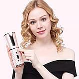 Беспроводной стайлер для завивки и укладки волос Ramindong Hair curler RD-060   Автобигуди Rose, фото 4
