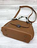 Жіноча молодіжна сумочка Aliri-20300 рудого кольору, фото 3