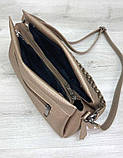 Стильна жіноча сумочка клатч Aliri-20444 золотиста, фото 5