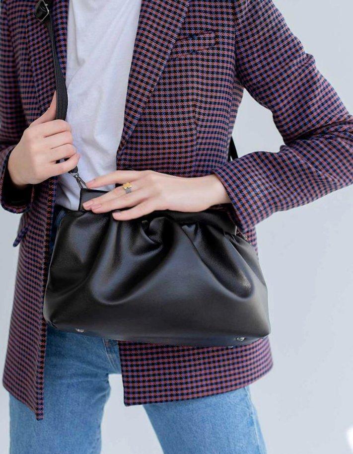 Женская молодежная сумка на плечо Aliri-20319 черная