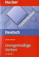Немецкая грамматика Deutsch üben, Taschentrainer, Unregelmäßige Verben