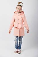 Детское весеннее пальто на девочку  Баска