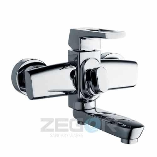 Смеситель для ванны кор. NEF 3A 232 ZEGOR k.35, хром (1/10)